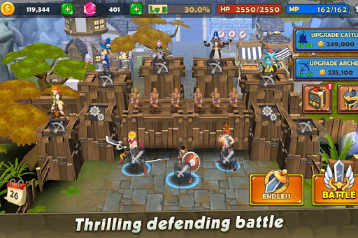 Castle Rush: Hero defender & Idle defense screenshots 3