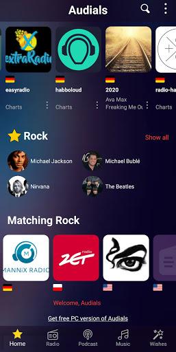 Audials Play – Radio Player, Recorder & Podcasts screenshots 2