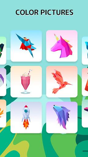 TAP TAP Color Mania Antistress: Color & Grow 2.1 screenshots 2