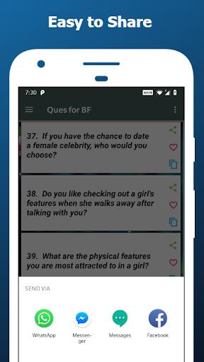 Romantic Questions to ask 💖  screenshots 3