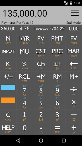 10bii Financial Calculator  screenshots 1