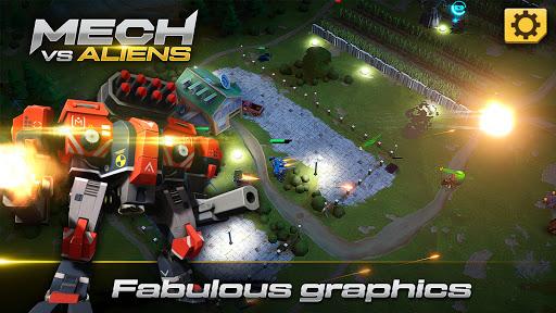 Mech vs Aliens: Top down shooter   RPG  screenshots 10