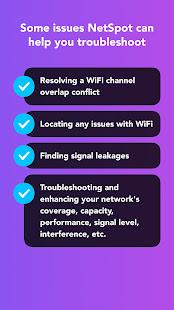 NetSpot - Analyseur WiFi