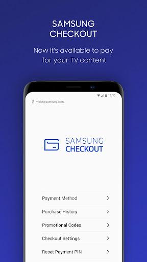 Samsung Checkout screenshots 2