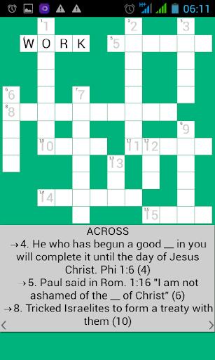 Bible Crossword 5.6 screenshots 3