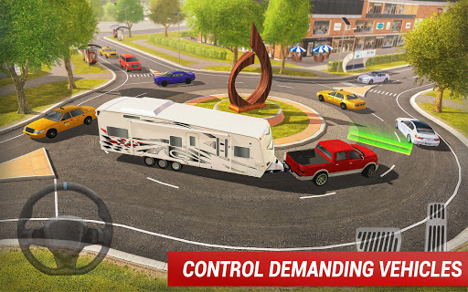 Roundabout 2: A Real City Driving Parking Sim 1.4 Screenshots 12