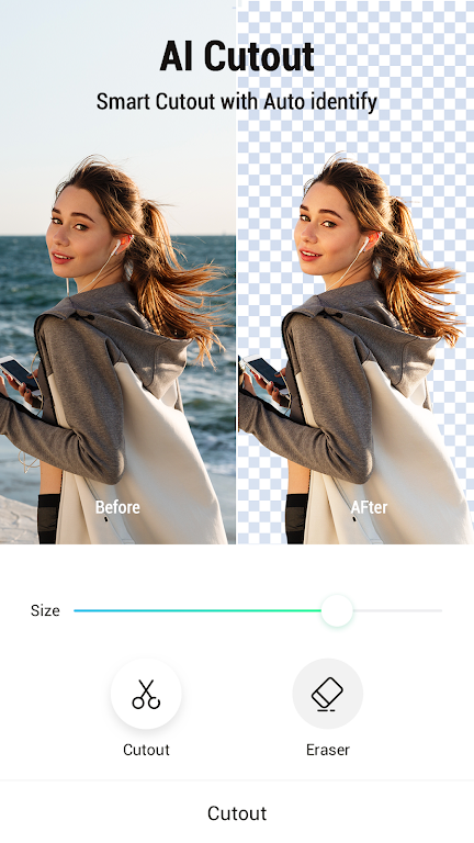 PickU: Photo Cut Out Editor & Background Editor  poster 0
