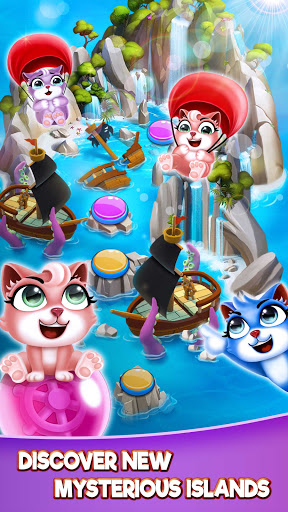 Cat Pop Island: Bubble Shooter Adventure 8.5 screenshots 5