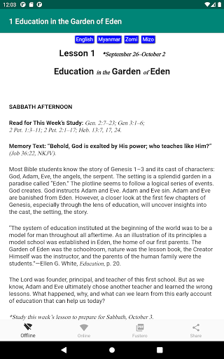 ASSL - Adult Sabbath School Lesson android2mod screenshots 5