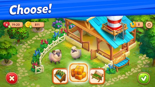 Farmscapes Mod Apk 2.0.1.0 (Money/Horseshoes) 3