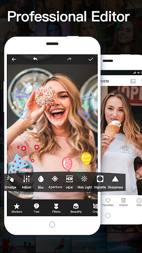 Free Photo Editor - Beauty Seflie Camera 1.3.0 Screenshots 4