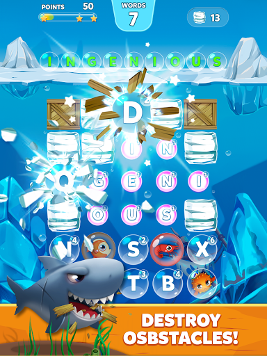 Bubble Words - Word Games Puzzle 1.4.0 Screenshots 7