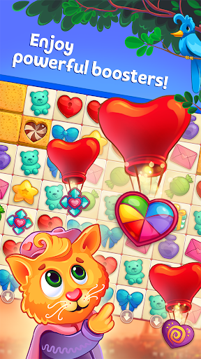 Sweet Hearts - Cute Candy Match 3 Puzzle  screenshots 1