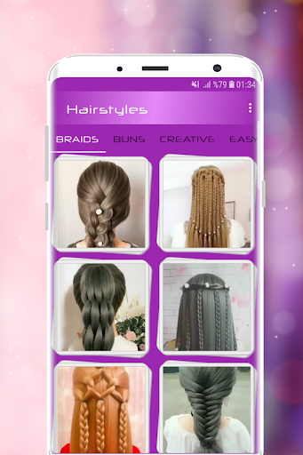 Hairstyles Step by Step Videos (Offline) 1.6.1 Screenshots 7