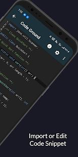 Online Compiler & Editor : Code on Mobile & Tablet