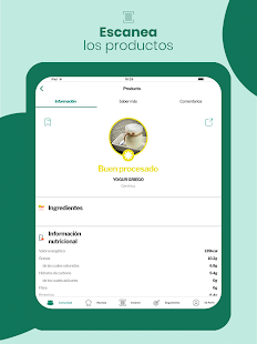 MyRealFood: Recetas y alimentos Screenshot
