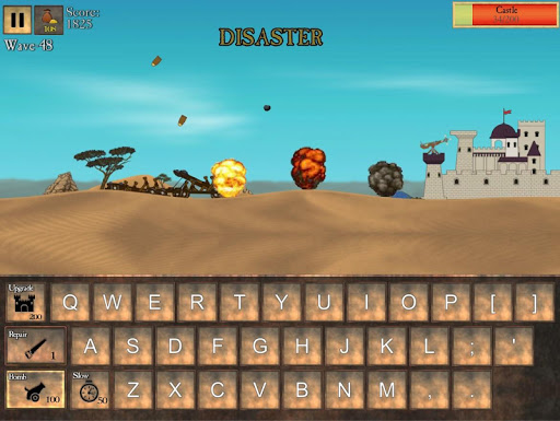 Type Defense - Typing and Writing Game  screenshots 8
