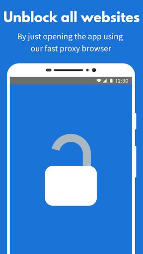 Proxynel: Unblock Websites Free VPN Proxy Browser 4.0.24 Screenshots 1