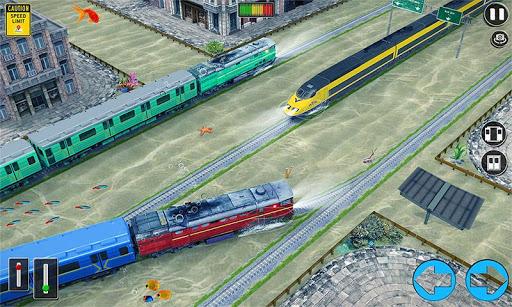 Underwater Bullet Train Simulator : Train Games 2.9.0 screenshots 3