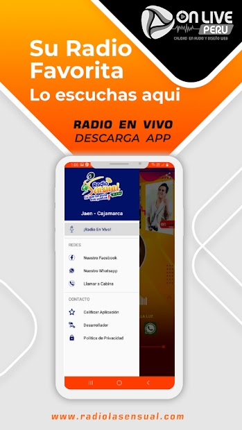 Radio La Sensual Cajamarca screenshot 1