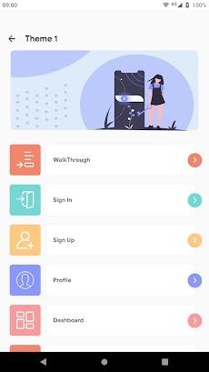 Prokit - Android App UI Design Template Kitのおすすめ画像2