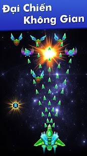 Hạm Đội: Đại Chiến Không Gian Ver. 32.7 MOD Menu APK | God Mode | Free Gold – Galaxy Attack: Alien Shooter MOD 1