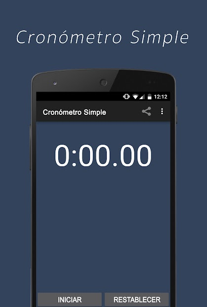 Imágen 2 de Cronómetro Simple para android