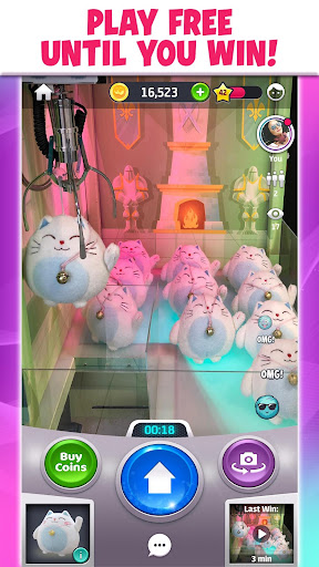 Claweeu2122 - A Real Claw Machine & Crane Game Online 5.3.601.0 screenshots 1