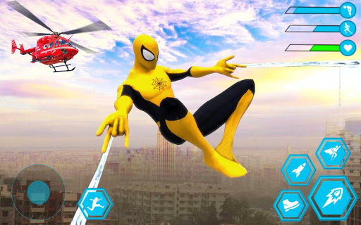 Spider Rope Hero Man: Miami Vise Town Adventure 1.0 Screenshots 10