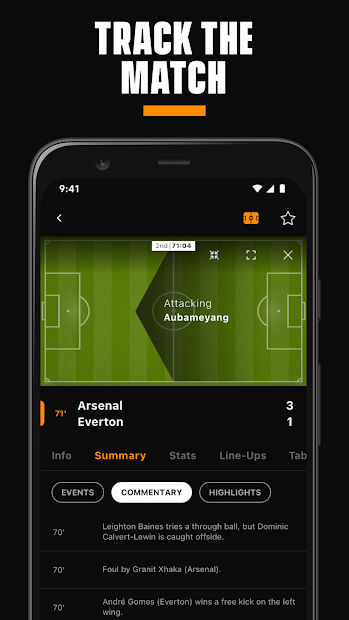 LiveScore: Live Sports Scores screenshot 1