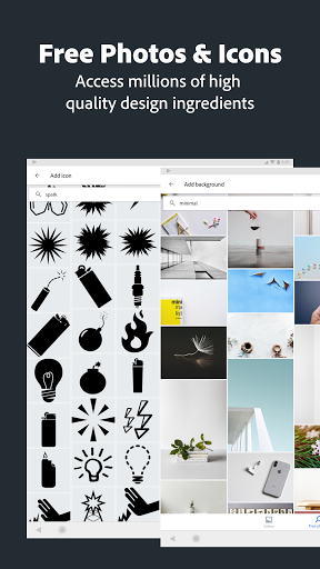 Adobe Spark Post: Graphic Design & Story Templates  screenshots 24