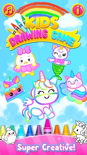 Rainbow Glitter Drawing Book - Coloring Classes  screenshots 6