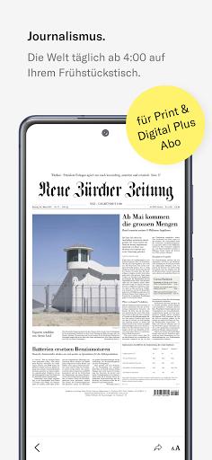 NZZ E-Paper modavailable screenshots 1