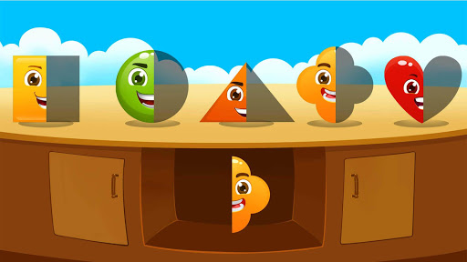 Learn shapes and colors for toddlers kids screenshots 4