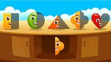 シェイプそして色 - 色彩 子供 ゲームのおすすめ画像4