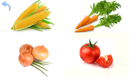 Fruits and Vegetables for Kids 8.3 Screenshots 14
