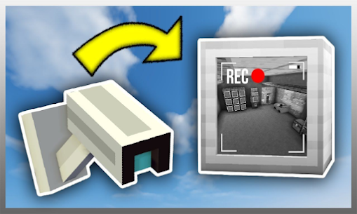 Security Camera for Minecraft PE Game Hack Android and iOS 1