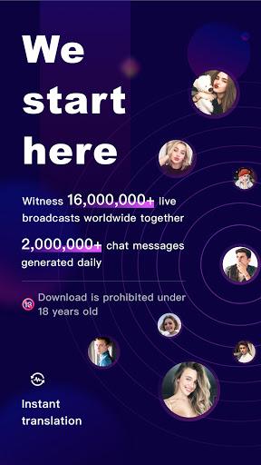 FaceCast:Make New Friends, Chat & Meet, Livestream  screenshots 1