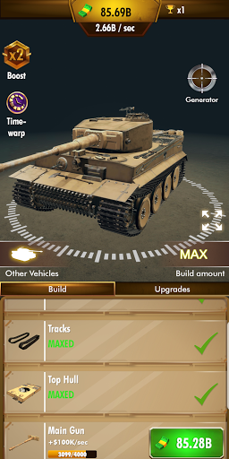 Idle Panzer 1.0.1.016 screenshots 3