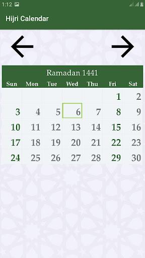 Hijri calendar (Islamic Date) and Moon finder 4.2 Screenshots 2