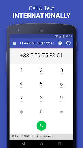 Second Phone Number: private texting & calling app  Screenshots 3