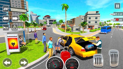 Taxi Driving Simulator City Car New Games 2021 0.3 screenshots 2