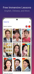 Tockto - Learn English, Chinese and More