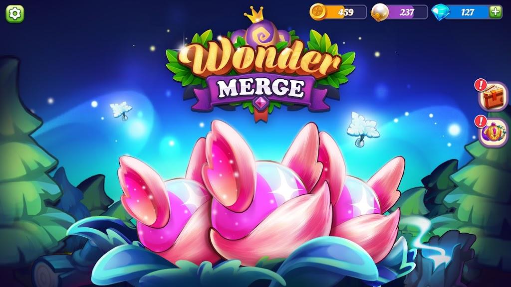 Wonder Merge - Magic Merging and Collecting Games poster 2