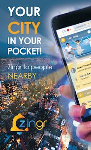 ZINGR – People nearby  meet, make new friends Apk Download NEW 2021 4