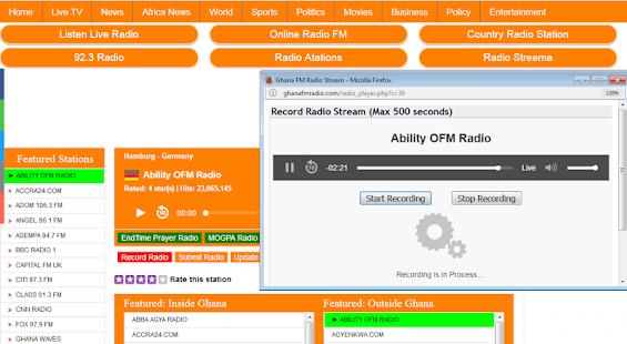 ALL GHANA FM RADIO STATIONS