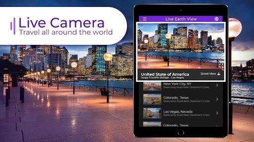 Live Earth Cam HD - Webcam, Satellite View, 3D Map 3.2 screenshots 1