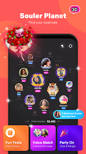SoulChill - Find Soulmate and Group Voice Chat Screenshot