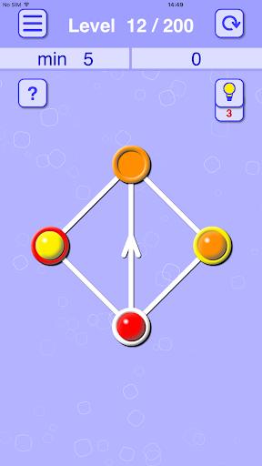 balls lines holes: slide puzzle screenshot 3