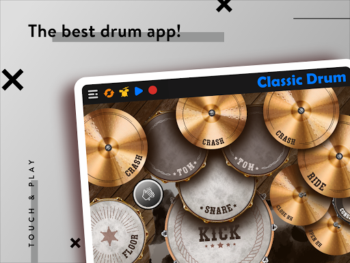 CLASSIC DRUM: Electronic drum set 7.5.6 Screenshots 13